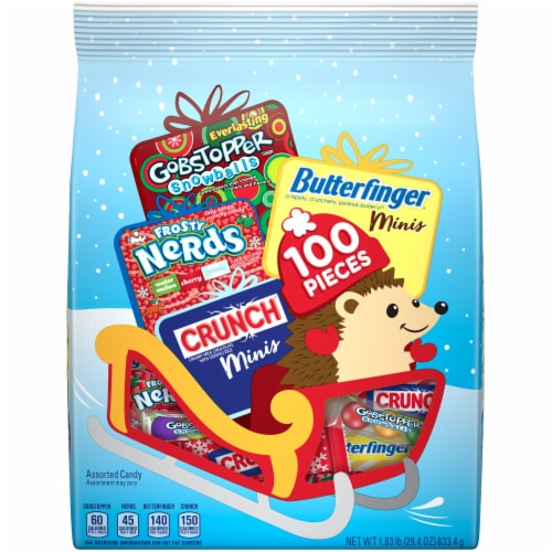 Nestle Assorted Holiday Candy Perspective: front