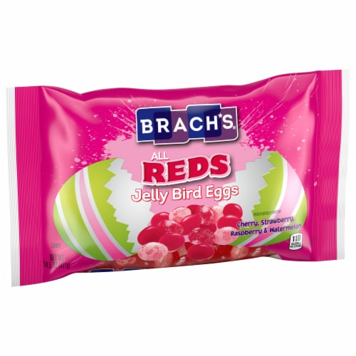 Brach's All Reds Jelly Bird Eggs Easter Candy Perspective: front