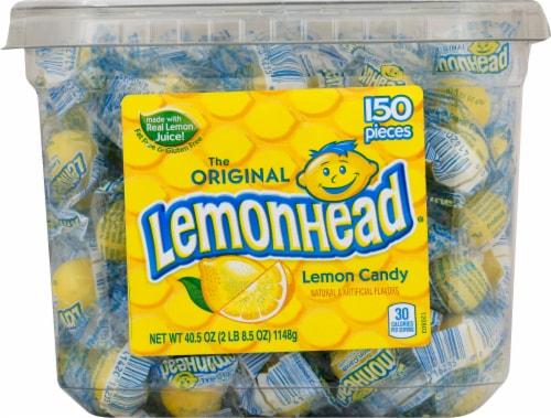 Lemonhead Lemon Candy Tub Perspective: front