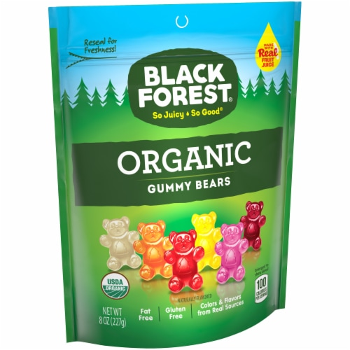 Black Forest Organic Gummy Bears Perspective: front