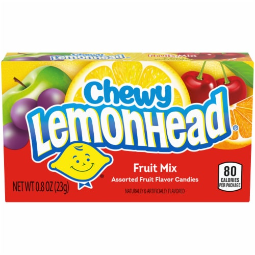 Chewy Lemonhead Fruit Mix Candy Perspective: front