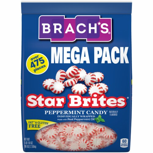 Brach's Star Brites Mega Pack Peppermint Candy Perspective: front