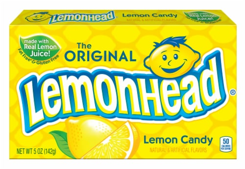 Lemonhead Lemon Candy Theaterbox Perspective: front
