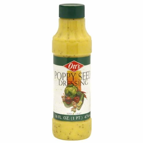 Ott's Poppy Seed Dressing Perspective: front