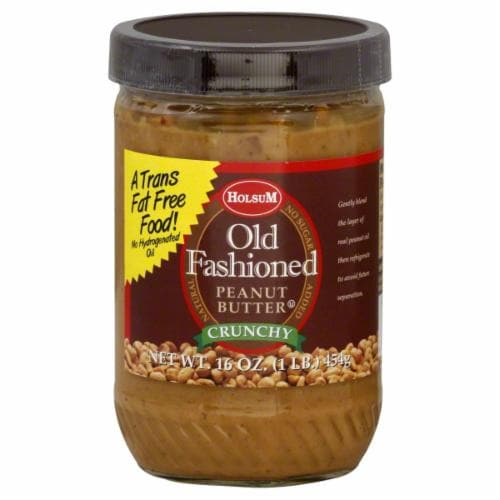 Holsum Old Fashioned Crunchy Peanut Butter Perspective: front
