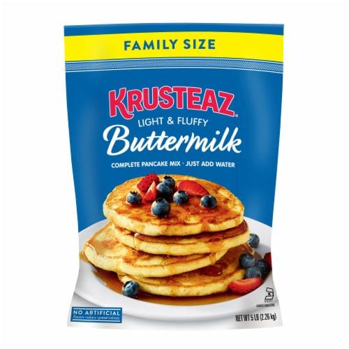 Krusteaz Buttermilk Complete Pancake Mix Perspective: front