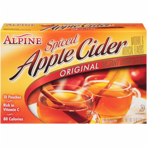 Alpine Spiced Apple Cider Mix Perspective: front