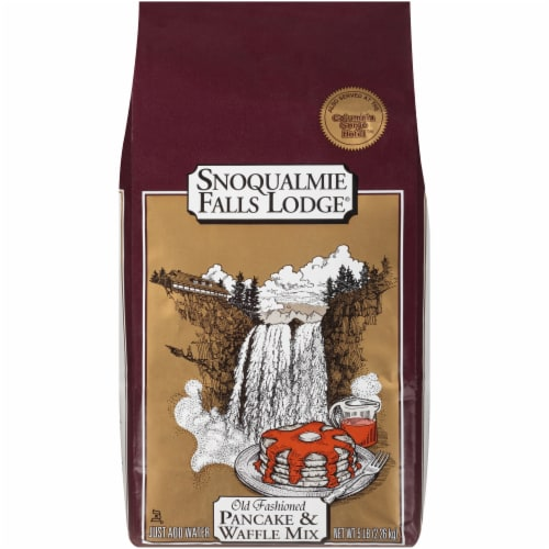 Snoquaimie Falls Old Fashioned Pancake & Waffle Mix Perspective: front