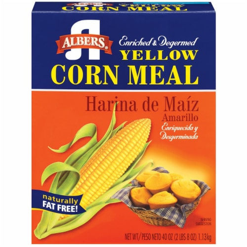 Albers Yellow Corn Meal Mix Perspective: front