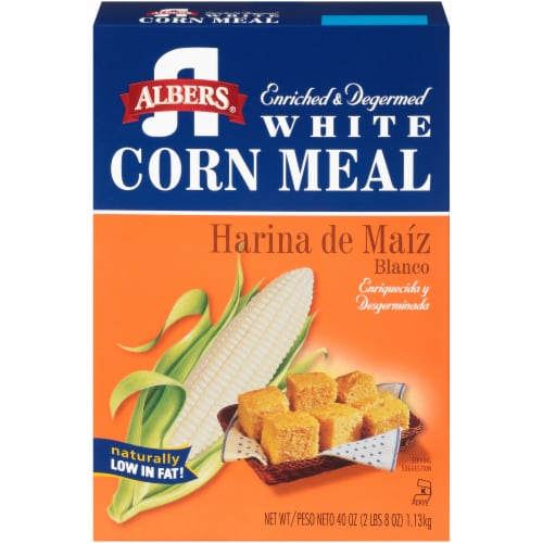 Albers White Corn Meal Perspective: front