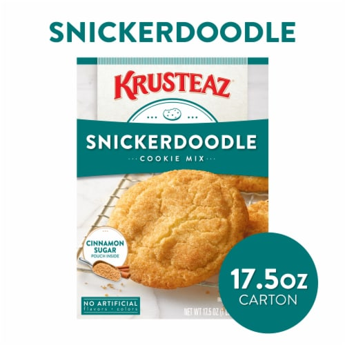 Krusteaz Snickerdoodle Cookie Mix Perspective: front