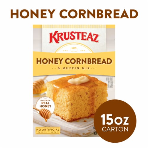 Krusteaz Honey Cornbread and Muffin Mix Perspective: front
