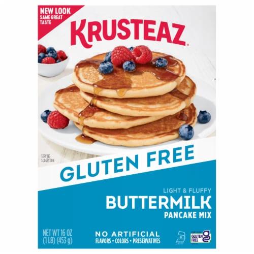 Krusteaz Gluten Free Buttermilk Pancake Mix Perspective: front