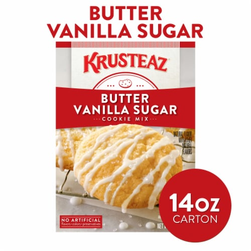 Krusteaz Butter Vanilla Sugar Cookie Mix Perspective: front