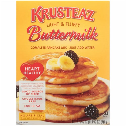 Krusteaz Buttermilk Complete Pancake Mix Perspective: front