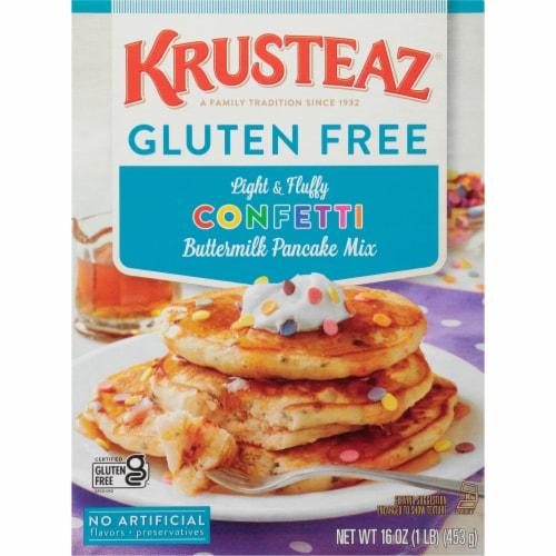 Krusteaz Gluten Free Confetti Buttermilk Pancake Mix Perspective: front