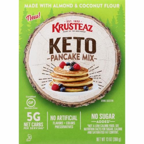 Krusteaz Keto Pancake Mix Perspective: front