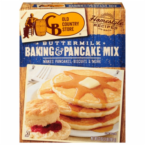 Cracker Barrel Old Country Store Buttermilk Baking & Pancake Mix Perspective: front