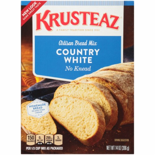 Krusteaz Country White Artisan Bread Mix Perspective: front