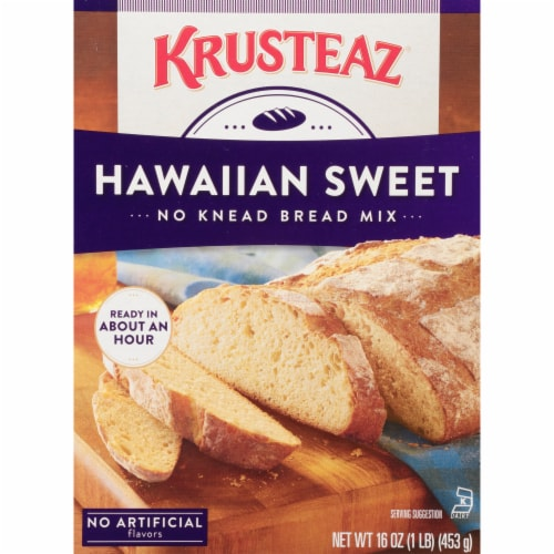 Krusteaz Hawaiian Sweet Artisan Bread Mix Perspective: front