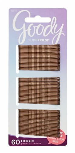 Goody Brown Bobby Pins Perspective: front