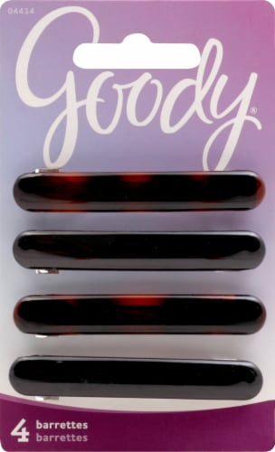 Goody Oblong Autoclasp Barrettes Perspective: front