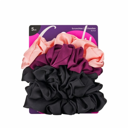 Goody Ouchless Satin Scrunchies Perspective: front