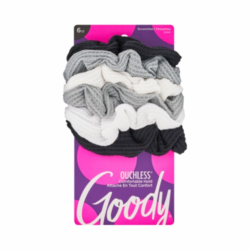 Goody Ouchless Thermal Scrunchies Perspective: front
