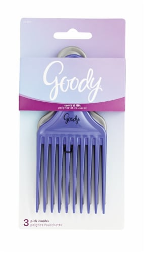 Goody Comb & Lift Pick Combs Perspective: front