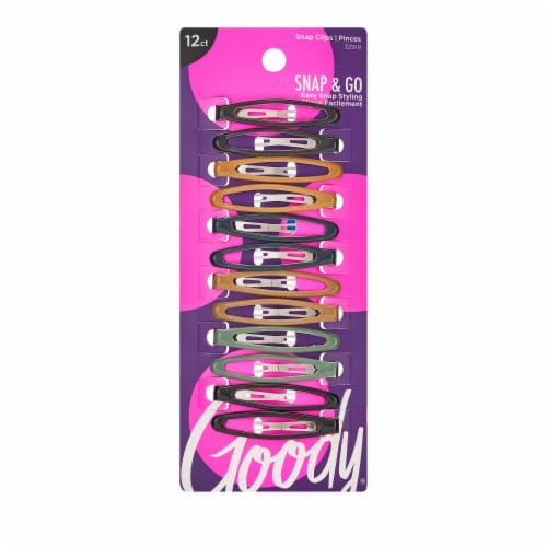 Goody Womens Classics Epoxy Contour Clip Perspective: front