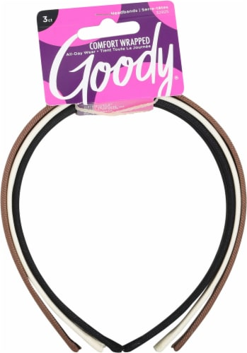 Goody Fabric Covered Headbands Perspective: front
