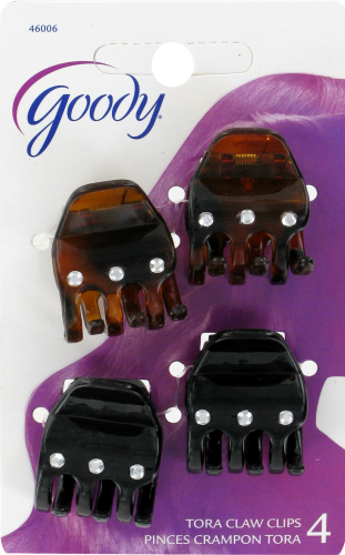 Goody Tora Claw Clips with Jewels Perspective: front