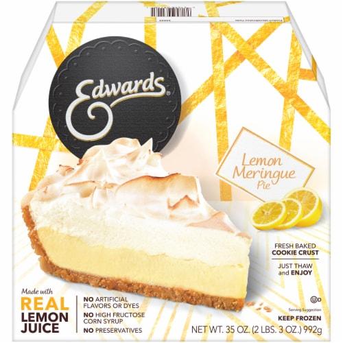 Edwards Lemon Meringue Pie Perspective: front