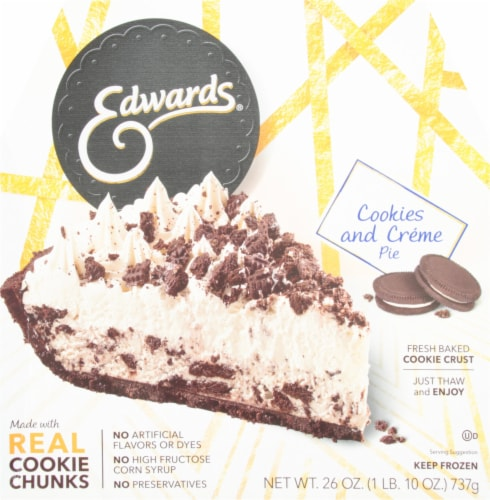 Edwards Cookies and Creme Pie Perspective: front