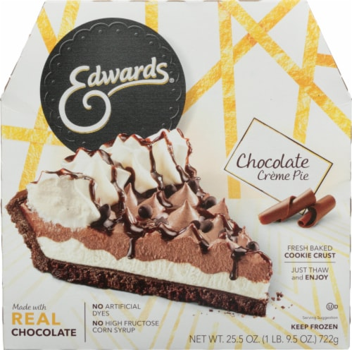 Edwards Chocolate Creme Pie Perspective: front