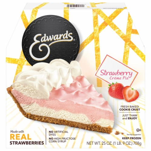 Edwards Strawberry Creme Pie Perspective: front