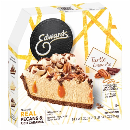 Edwards Turtle Creme Pie Perspective: front