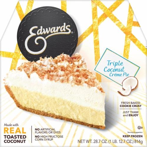 Edwards Triple Coconut Creme Pie Perspective: front