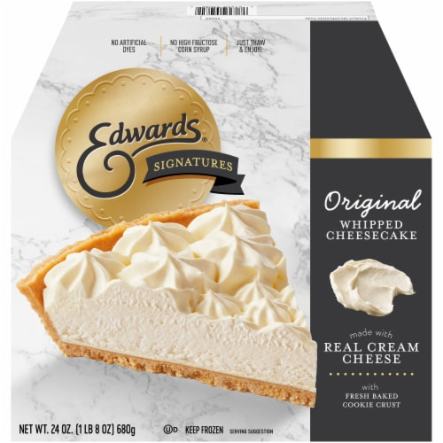 Edwards Original Whipped Cheesecake Perspective: front