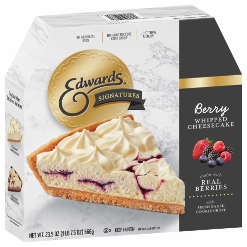 Edwards® Signatures Berry Whipped Cheesecake Perspective: front