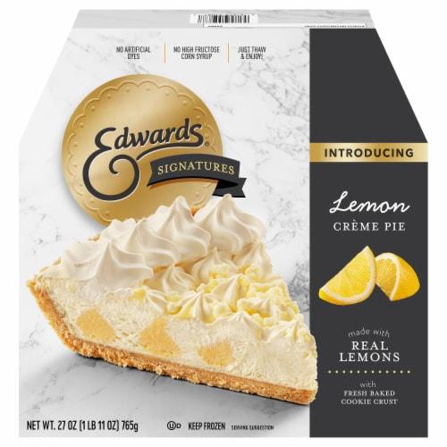 Edwards® Signature Creme Desserts Lemon Creme Pie Perspective: front