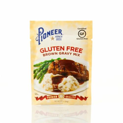 Pioneer Brand Gluten Free Brown Gravy Mix Perspective: front