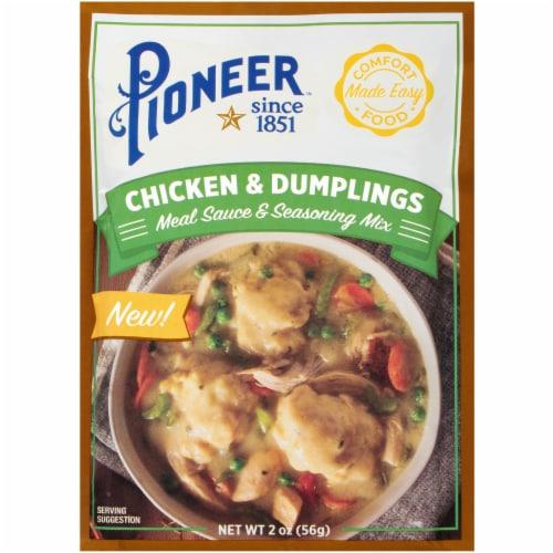 Pioneer Chicken & Dumplings Meat Sauce & Seasoning Mix Perspective: front