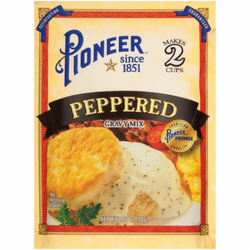 Pioneer Peppered Gravy Mix Perspective: front