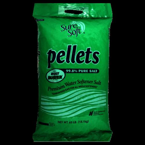 Sure Soft Pellets Premium Water Softener Salt Perspective: front