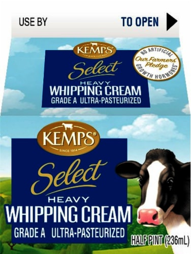 Kemps Ultra-Pasteurized Heavy Whipping Cream Perspective: front