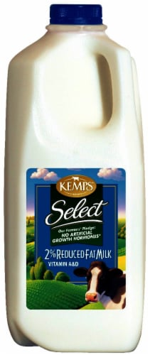 Kemps Select 2% Reduced Fat Milk Perspective: front