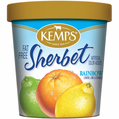 Kemps Rainbow Sherbet Perspective: front