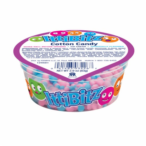 IttiBitz Cotton Candy Ice Cream Cup Perspective: front
