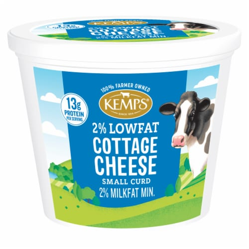 Kemps 2% Cottage Cheese Perspective: front
